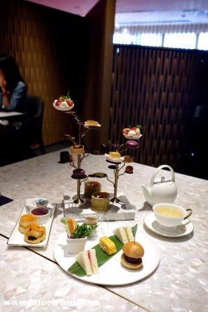 Dining at Murasaki: Afternoon Tea set