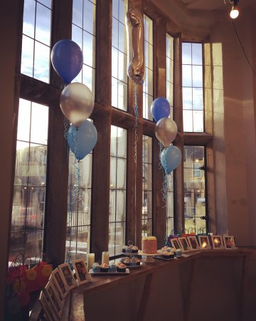 Otley, UK: First birthday party at the Stew & Oyster