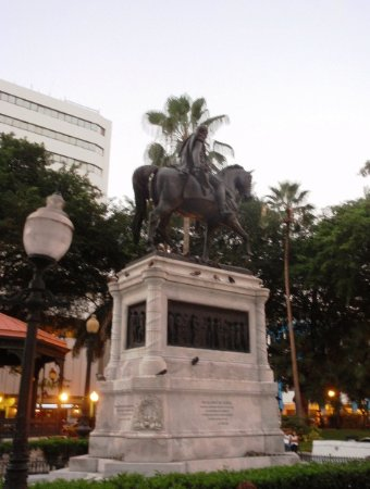 Equestrian Monument to the Liberator Simon Bolivar