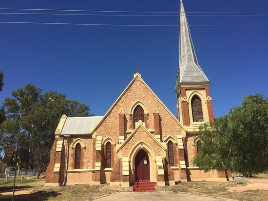 Wentworth, Australia: St John's Anglican Church