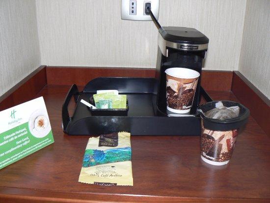 "Holiday Inn Santiago Airport: ""Coffee making facilities"""