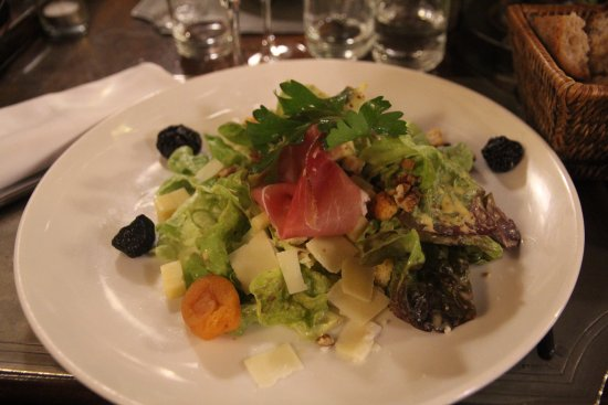 salade gourmande du menu obr zek za zen restaurant l 39 etage annecy tripadvisor. Black Bedroom Furniture Sets. Home Design Ideas