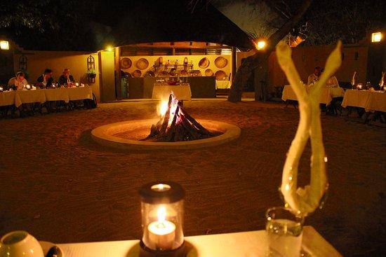 Elephant Plains Game Lodge: Boma