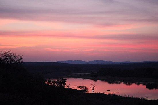 Malelane, South Africa: Blick auf den Crocodile River