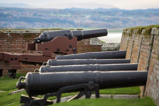 Ardersier, UK: Cannons