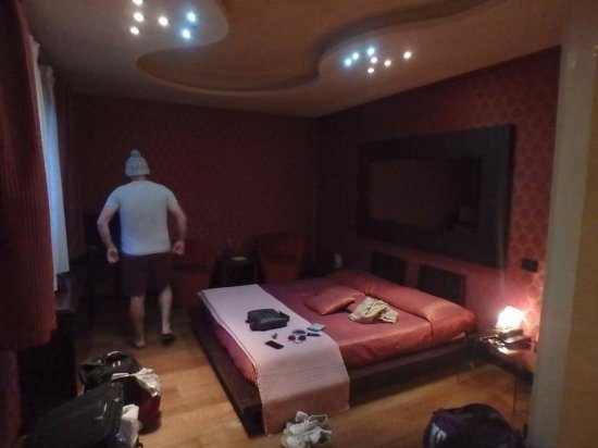 Abbazia Deluxe : Our room