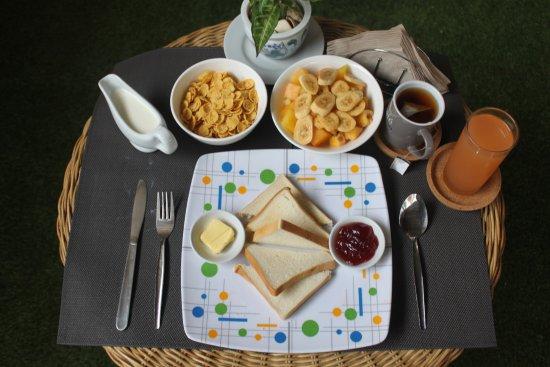 Bulskamp Inn: Breakfast