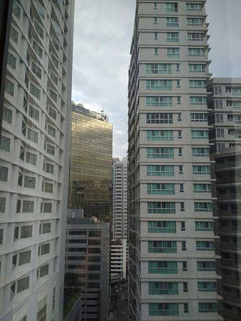 Tai-Pan Hotel: this was the view from my room