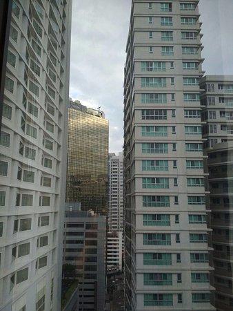 โรงแรมไทปัน: this was the view from my room