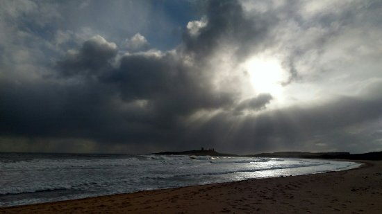 Embleton, UK: Even on a cloudy it's beautiful!