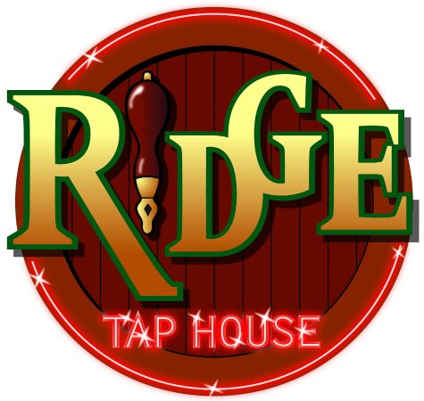 Slave Lake, Canada: Logo for the Ridge Taphouse