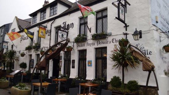 Caernarfon, UK: At Palace St