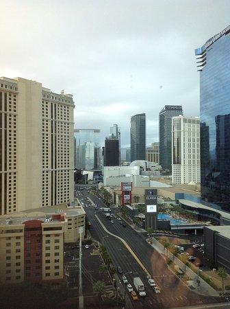 Signature at MGM Grand: Grey sky over Vegas.