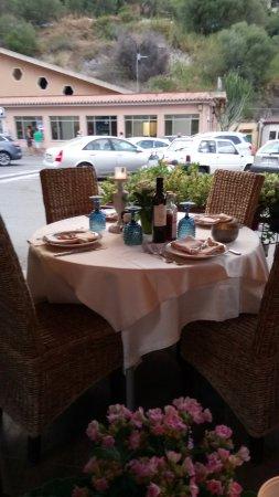 La Marina Restaurant : сервировка