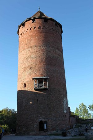 Sigulda, Lettland: The tower of the castle