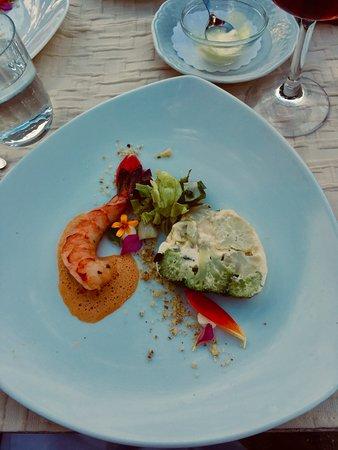 Schachener Hof: Flusskrebs mit Gemüseterrine