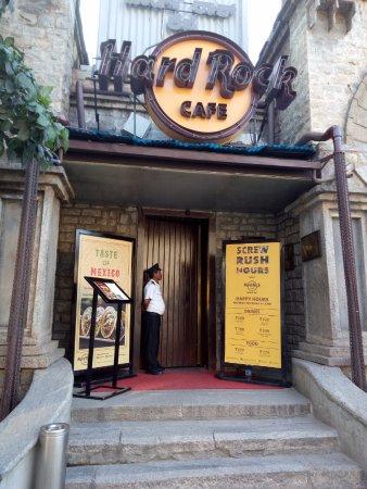 Hard Rock Cafe Bengaluru: Restaurent Entrance Pic