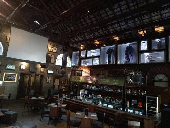 Hard Rock Cafe Bengaluru: Bar Area in the Restaurent