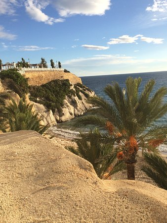 Sandos Monaco Beach Hotel & Spa: Walk along from Old Town to view point