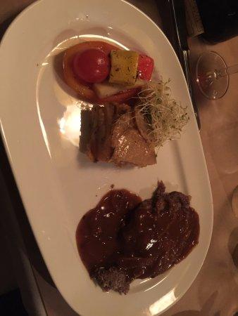 Longueuil, Canada: foie de veau sauce au bacon, correct, sans plus