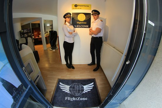 Paris, France: Flightzone..