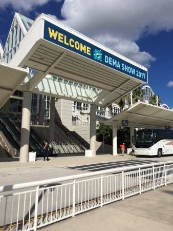 Orange County Convention Center: dema 2017 entreda