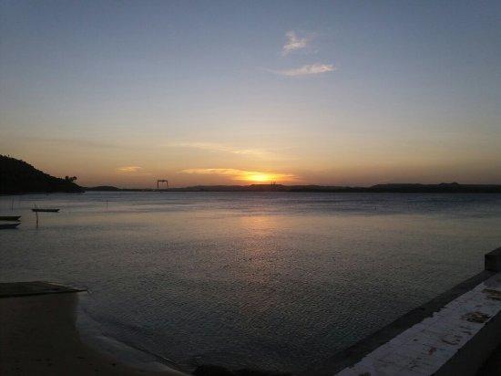 Praia Barra do Paraguaçu