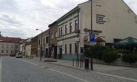 Kojetin, Tsjekkia: Restaurace U Pídího v Kojetíně na náměstí, dobře tu vaří