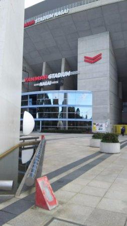 Osaka Nagai Stadium: 外観です