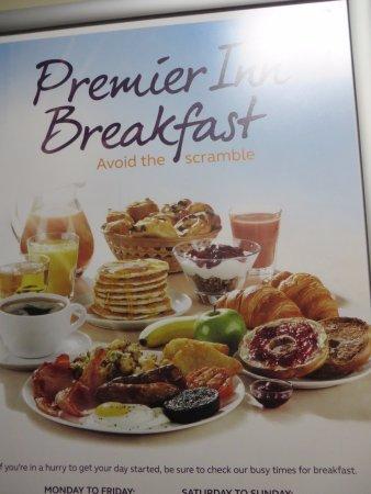 Premier Inn Oxford Hotel: Help yourself breakfast