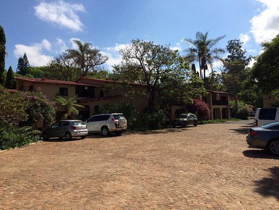 Waterval Boven, South Africa: Front of the hotel