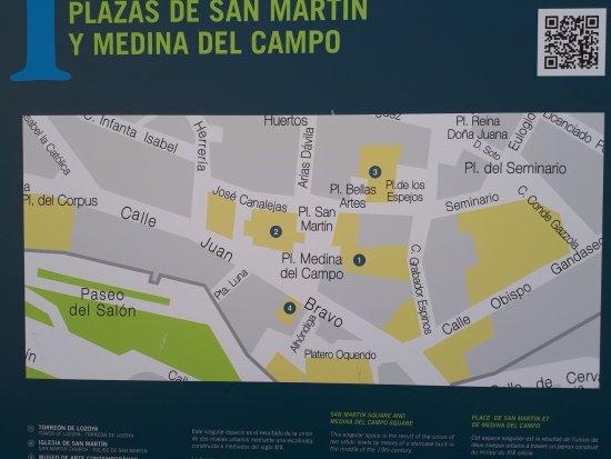 Plaza de medina del campo plan picture of plaza de - Spa en medina del campo ...