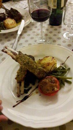 Camporoppolo, Italien: cena