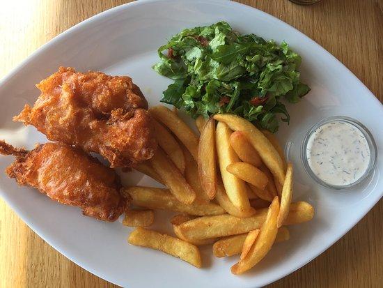 Eyrarbakki, Islandia: Fish & chips