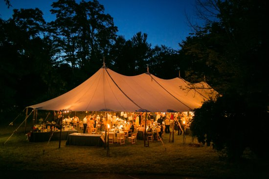 Lakeville, CT: Tented Wedding on the Far Lawn