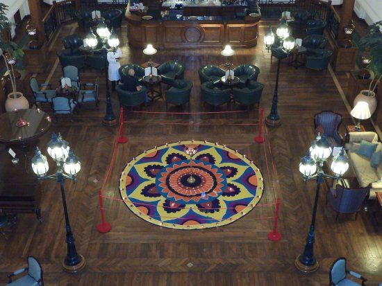 The Oberoi Cecil, Shimla: Diwali rangoli