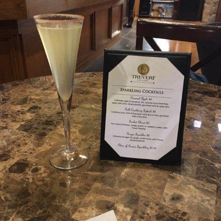 Wapato, WA: Sparkling cocktails menu
