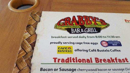 Crabby's Beachwalk Bar & Grill : 20171003_094027_large.jpg