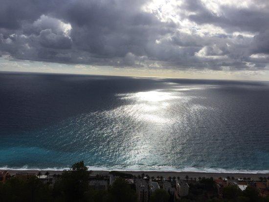 Varigotti, Italia: Lungomare visto dall'alto