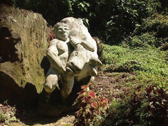 Guantanamo, Cuba: zoo de pedra