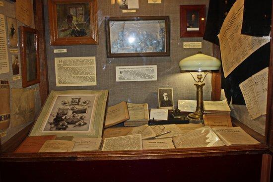 One Street Museum: Насыщенная экспозиция наполнена историческими документами, рукописями, старинными открытками