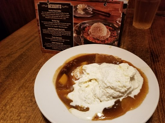Rock Hill, SC: Photo comparison of Menu, and of melted icecream