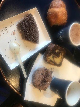 Photo of Restaurant Chocolaterie Cyril Lignac at 25 Rue Chanzy, Paris 75011, France
