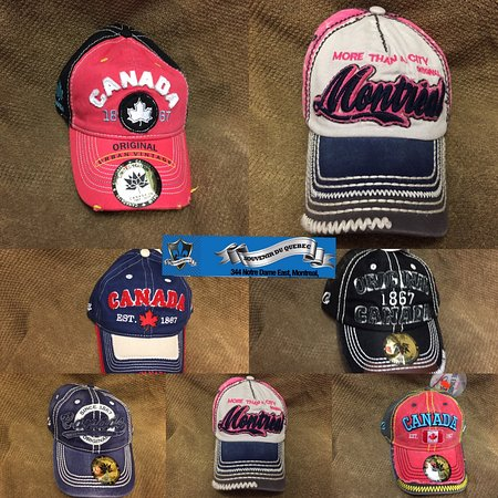 Orignal Baseball hats of montreal