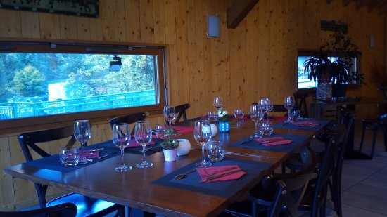 Seytroux, France: La sala da pranzo
