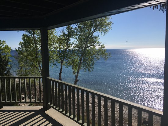Miller Lake, Canada: View from the deck off the Georgian Bay Suite