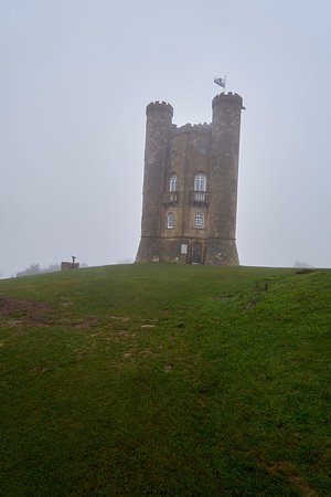 Broadway Tower: Tower in the cloud