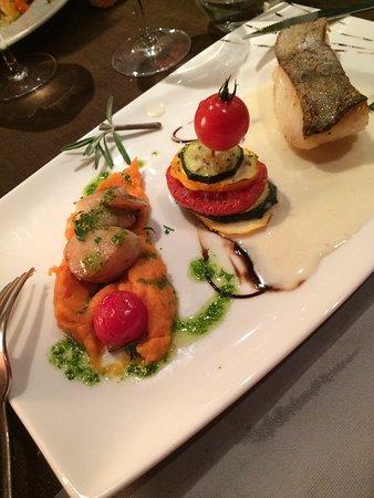 Restaurant la fleur de sel dans port en bessin huppain - Restaurant port en bessin fleur de sel ...