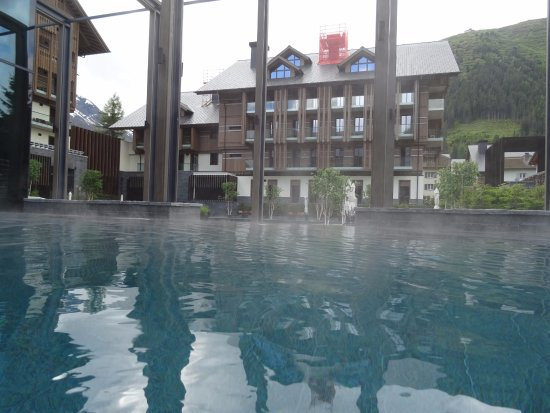 Outdoor Pool Picture Of The Chedi Andermatt Tripadvisor