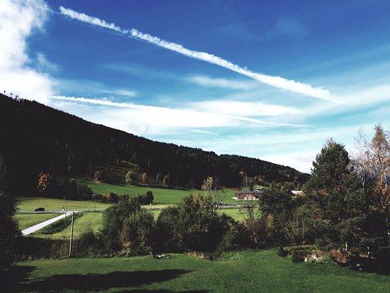 Radstadt, Áustria: Blick vom Balkon